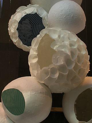 Cupcake sculpture