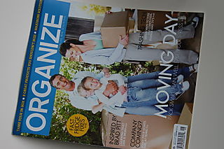 Organize magazine