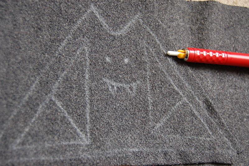 Bat chalked