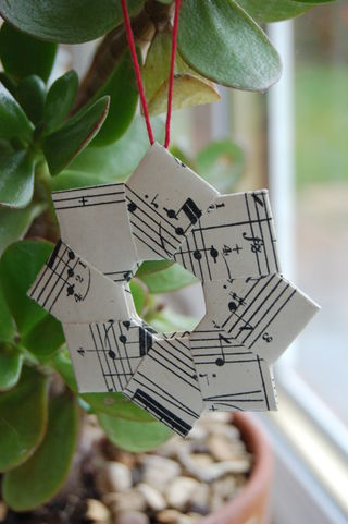 Music wreath