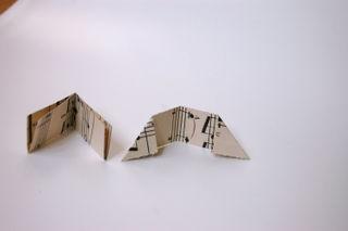 Fold down corners