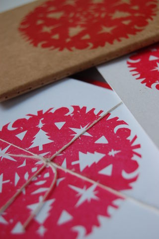 Gocco book and cards