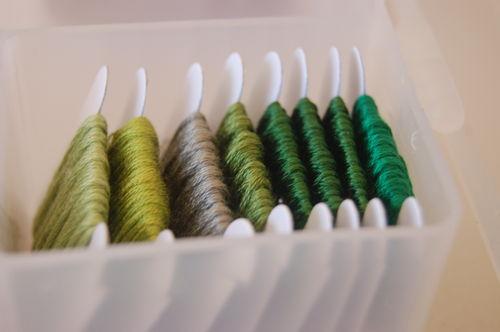 Green floss