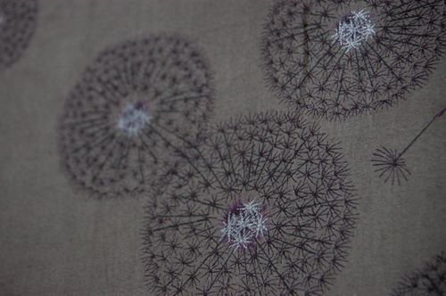 Dandelion clock fabric