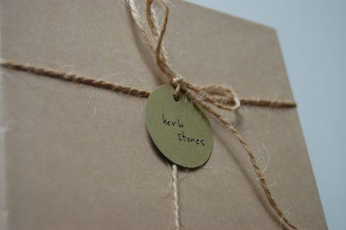 Herb stones box