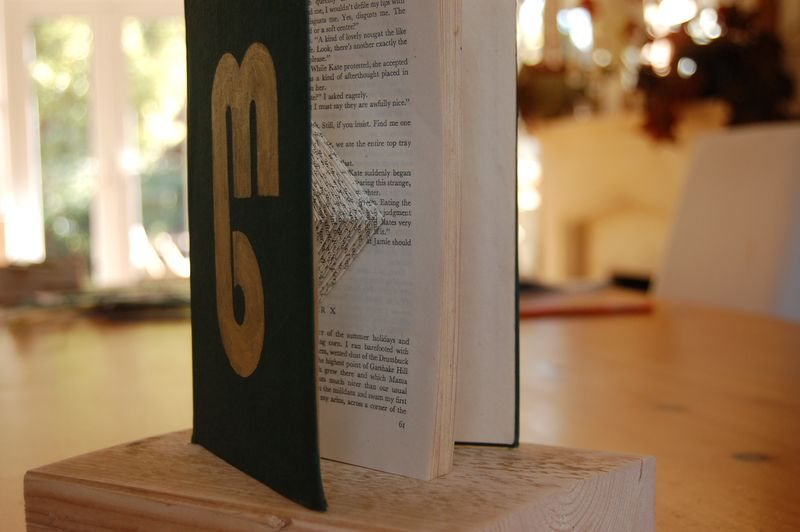 Mostly books trophy