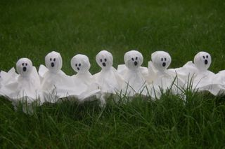 Ghostie lollies
