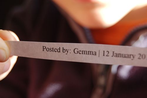 Gemma!