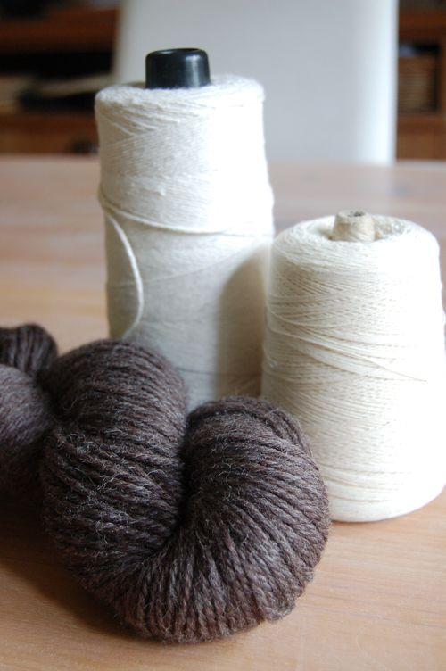 Wool string and thread