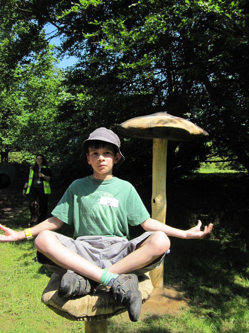 Om mushroom